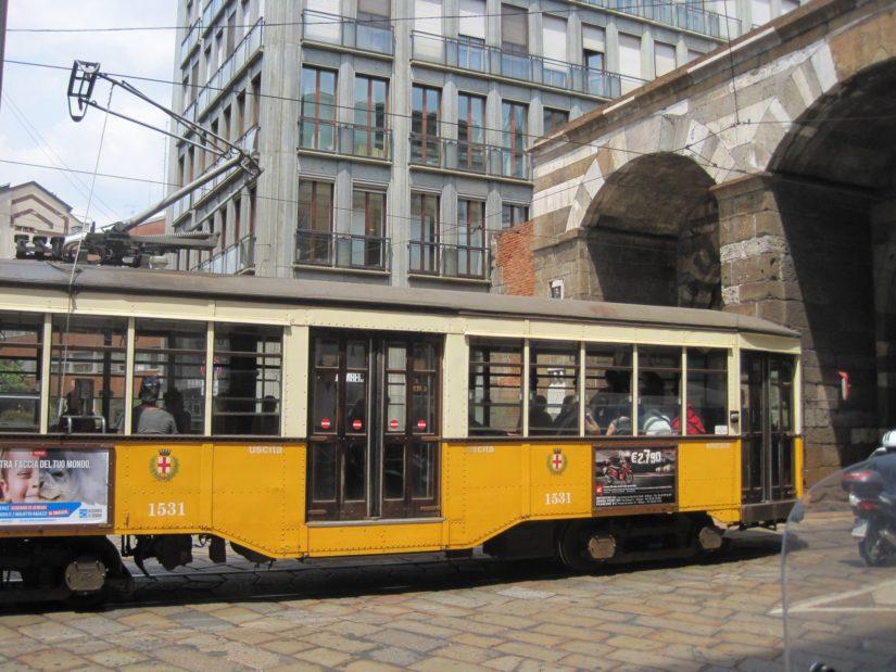 Le tramway de Milan