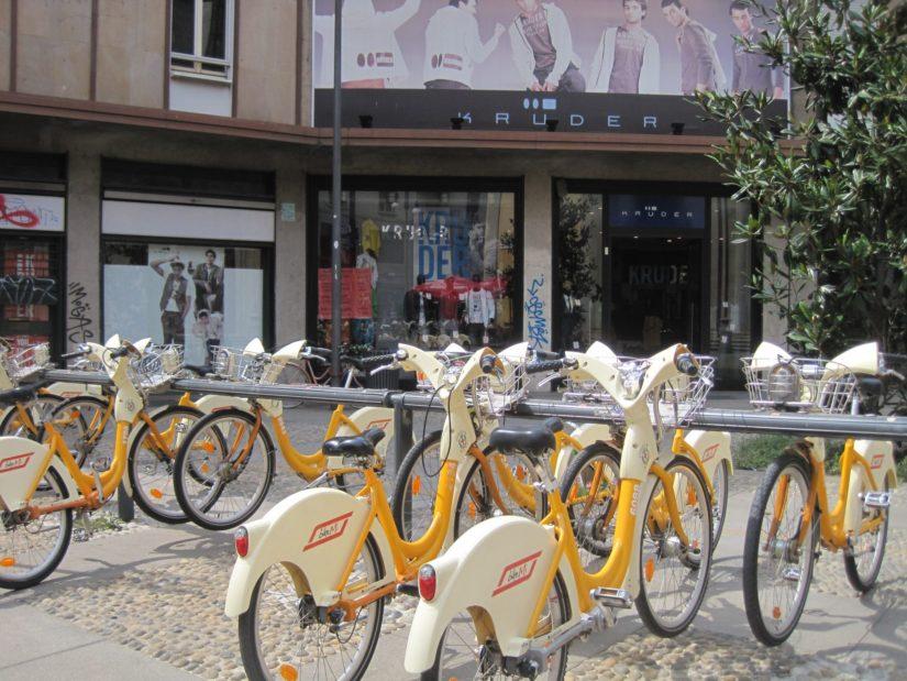 Velibs de Milan