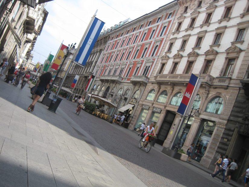 rues de Milan