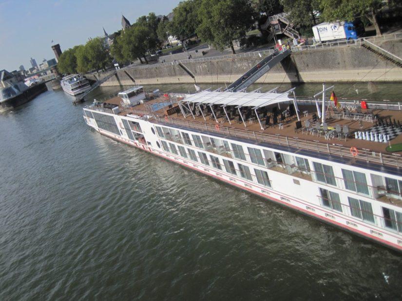 Le fleuve de Cologne
