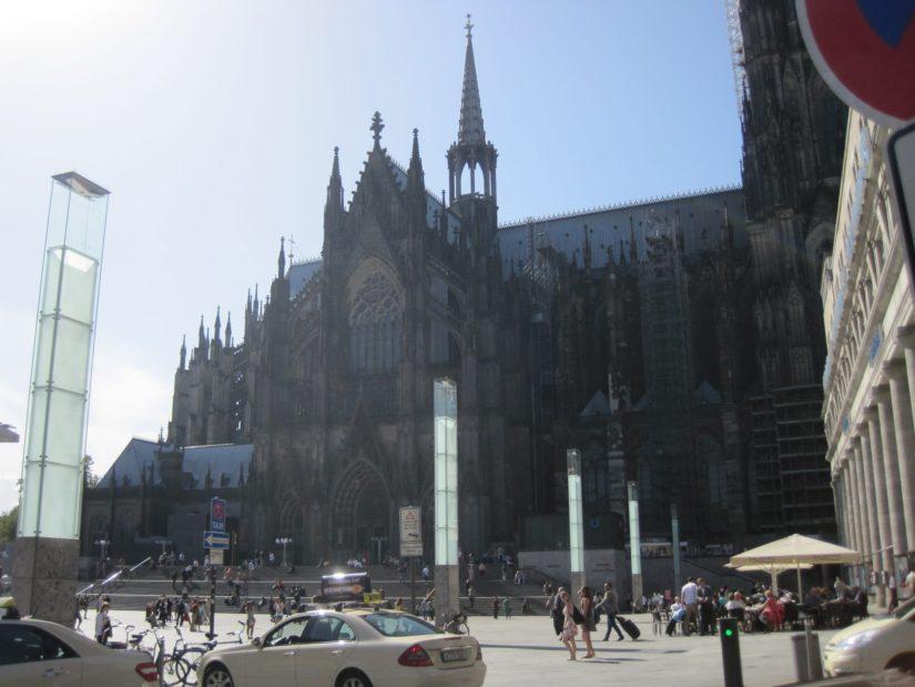 Vue sur la Cathédrale de Cologne