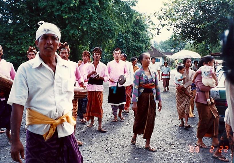 peuple d'indonésie
