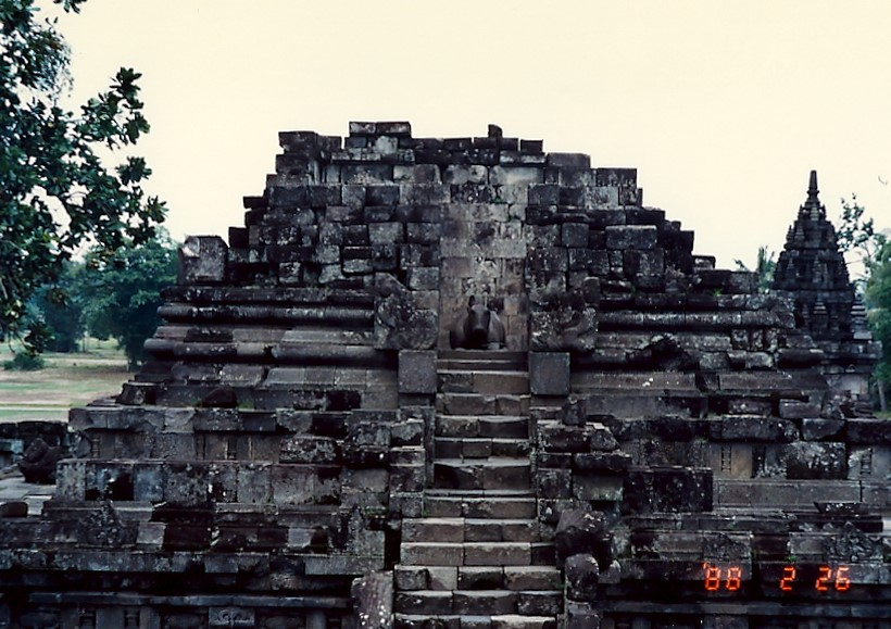borobudur en indonésie