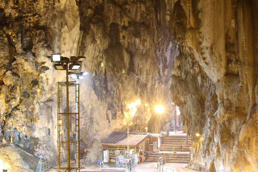 Bati caves Voyager en Malaisie