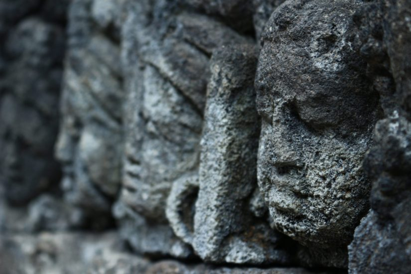 Borobudur photos de voyage
