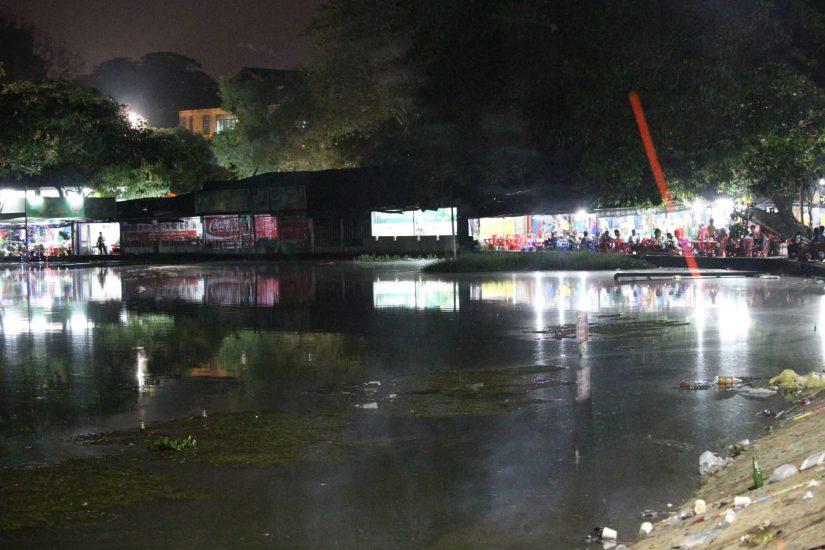 Yangon lakes