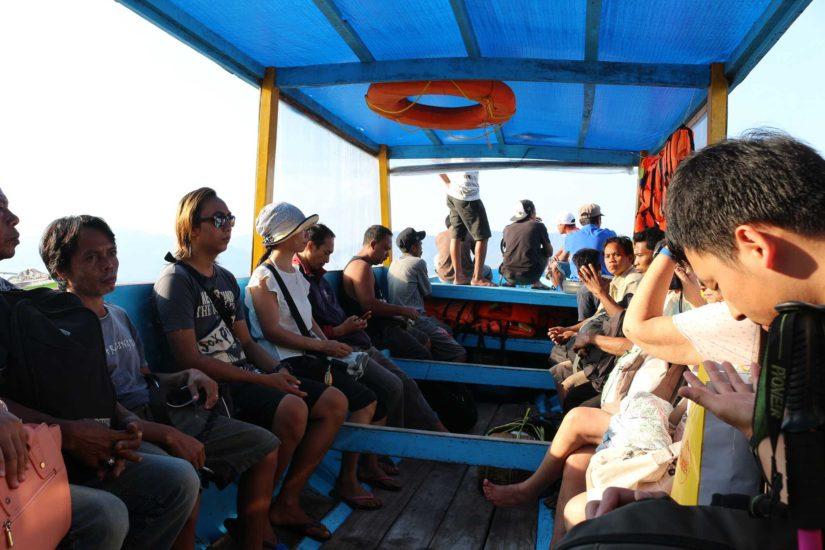 Trajet Gili Lombok