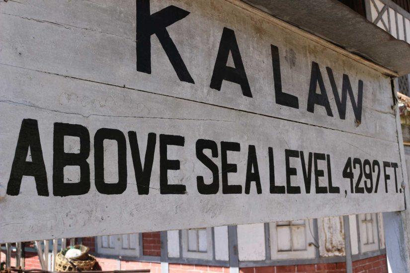 Le Trajet de Kalaw au Lac Inle
