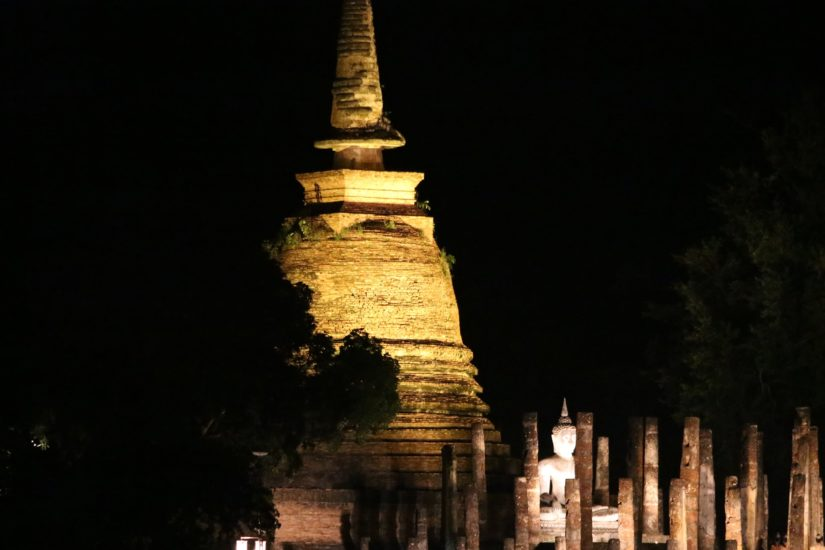 Wat Sa Si by night