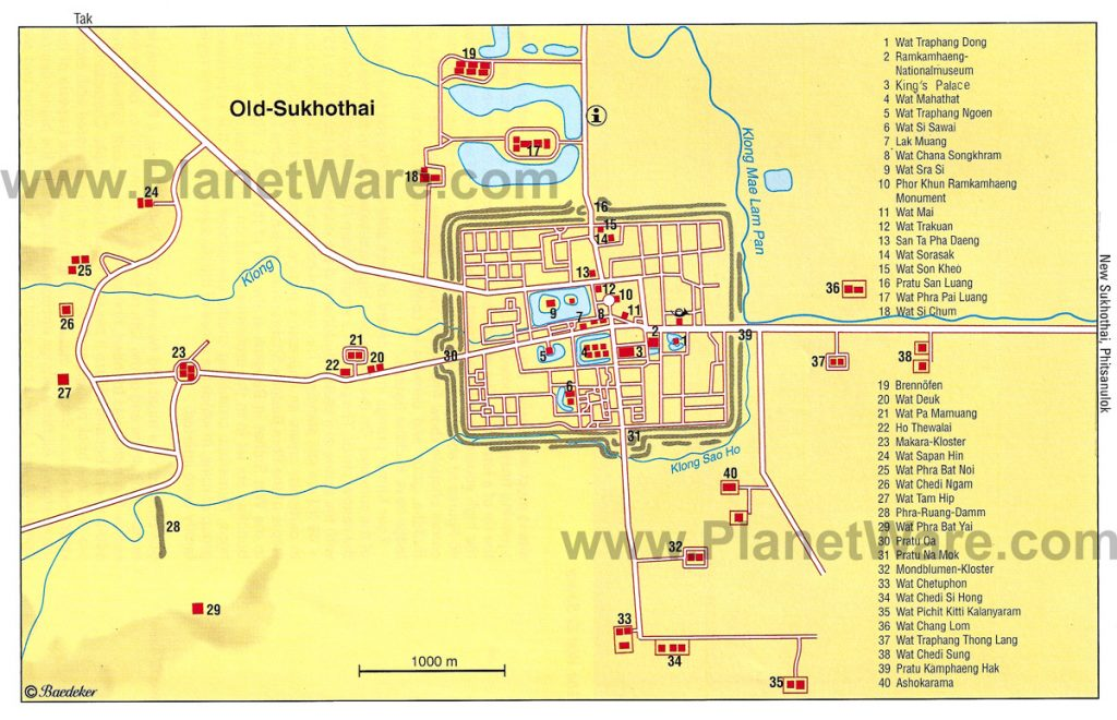 old-sukhothai-map