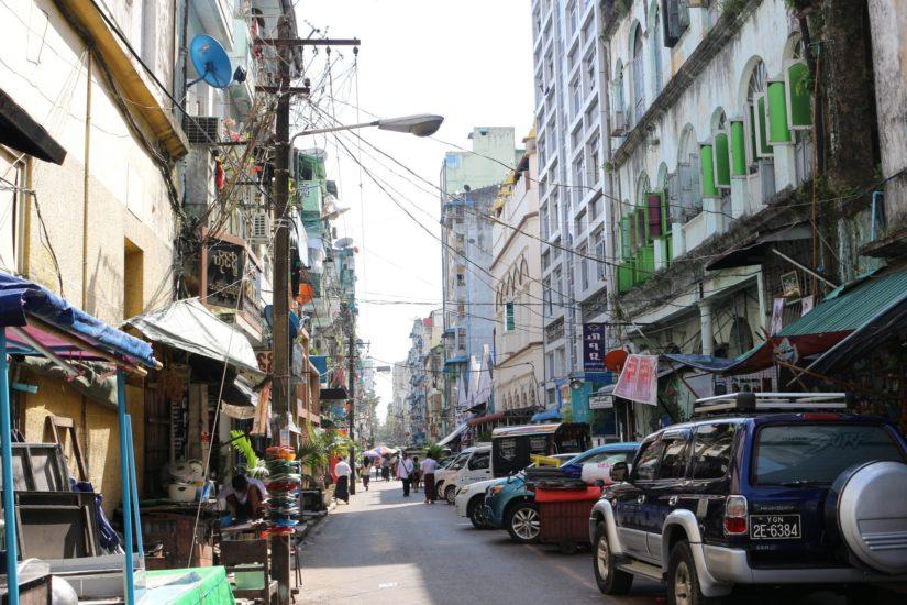 Yangon central
