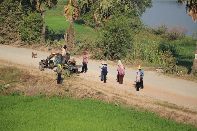 frontière Thailande Cambodge