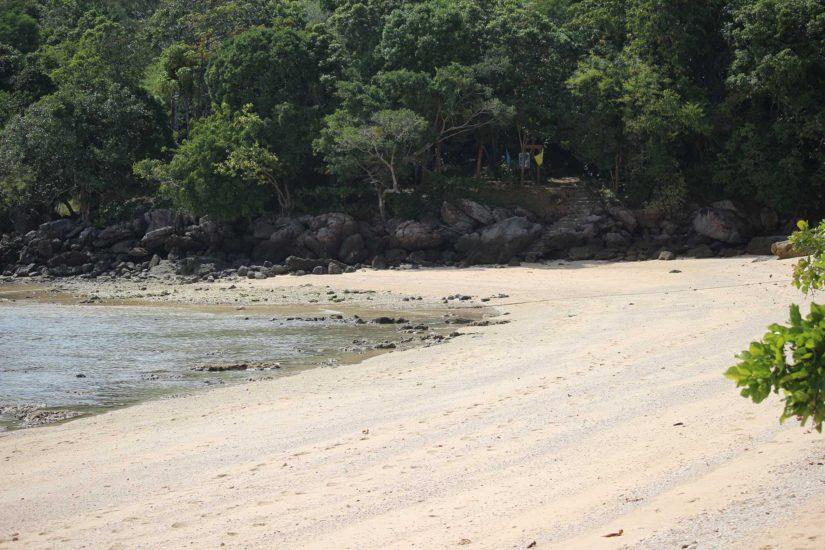 paradise beach koh ngai
