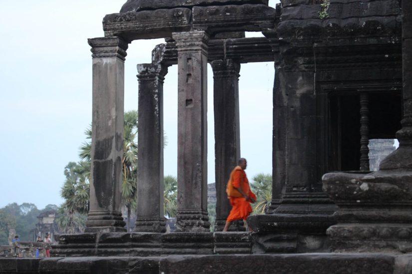 Angkor Wat bibliothèque