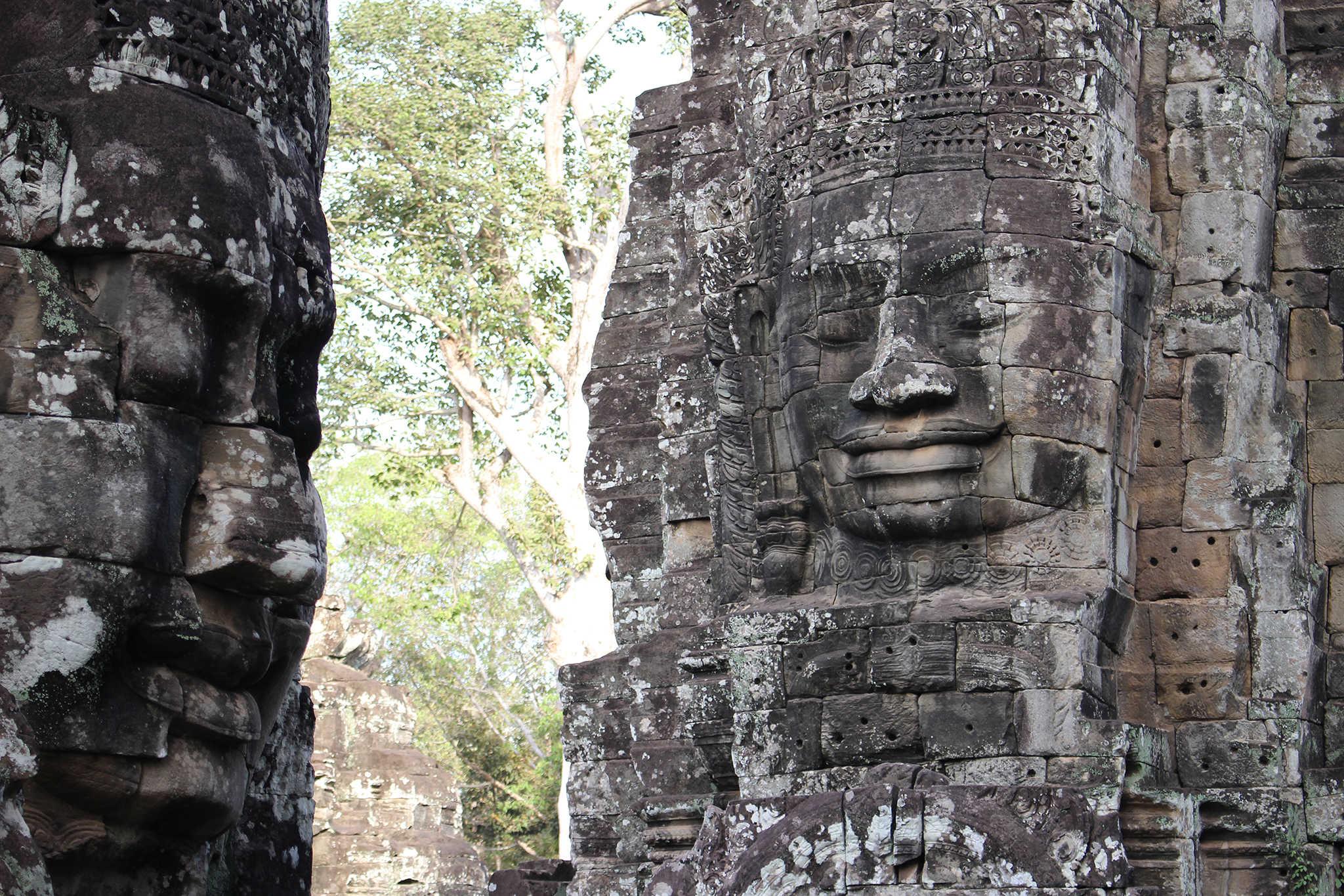 Bayon visages de bouddha