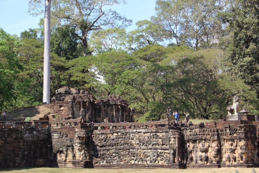 Angkor Thom Terrace of the Elephant