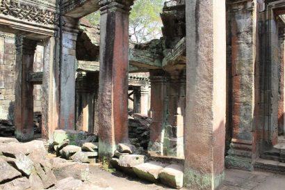 Preah Khan central temple