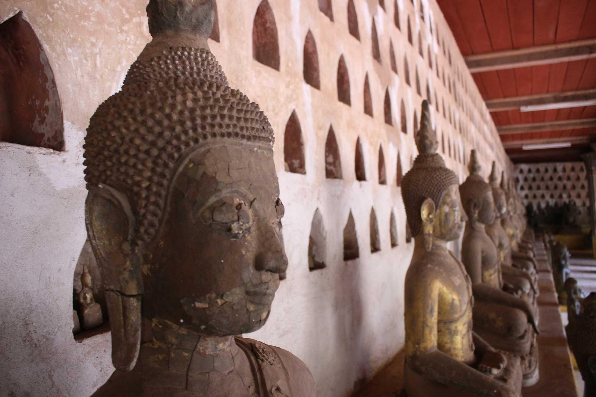 Wat Si Saket Temples de Vientiane Voyager au Laos