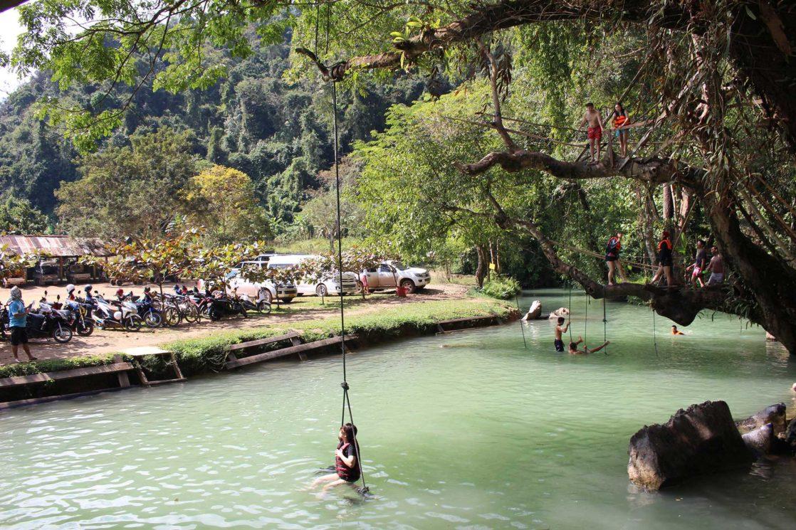 Vang Vieng Blue Lagoon