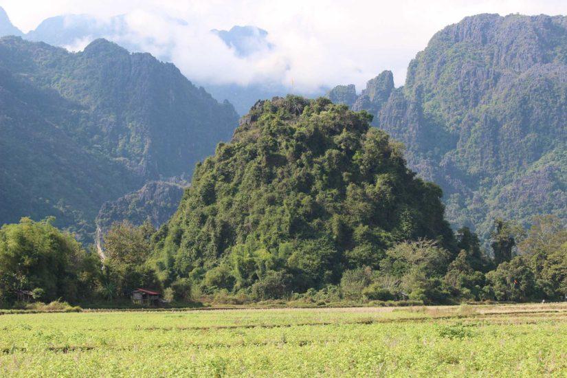 Voyager au Laos Vang vieng