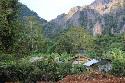 vang Vieng paysages