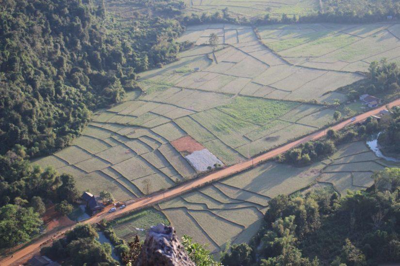Pha Ngeun view point in Laos