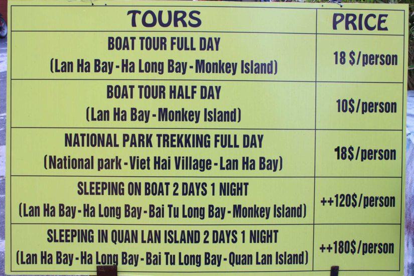 Cat Ba Baie d'Halong