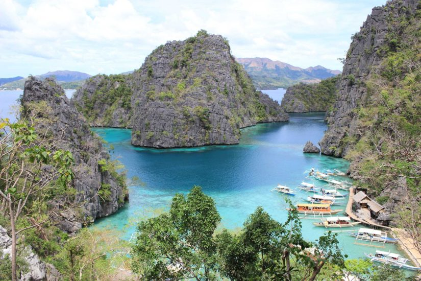 Coron Island voyager aux Philippines