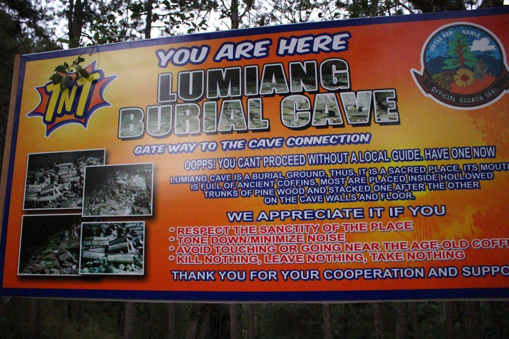 Sagada burial cave