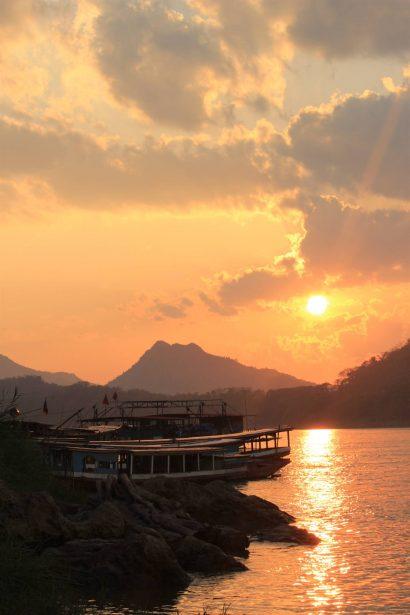Luang Prabang Mekong nam khan river
