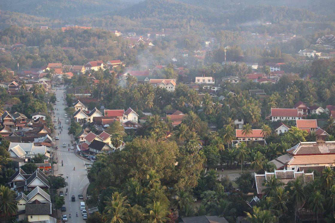 Mont Phousi Voyager au Laos