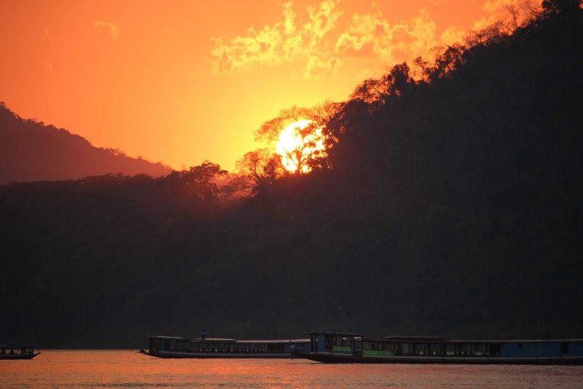 Nam Khan River Mekong