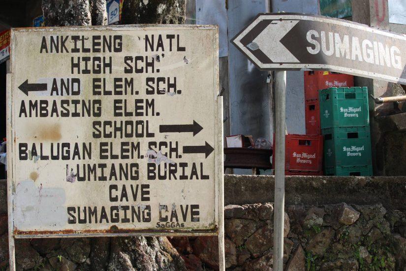 Sagada road to the caves