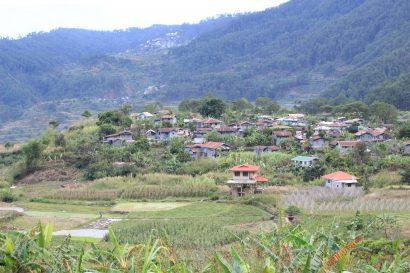 Balugan village Sagada