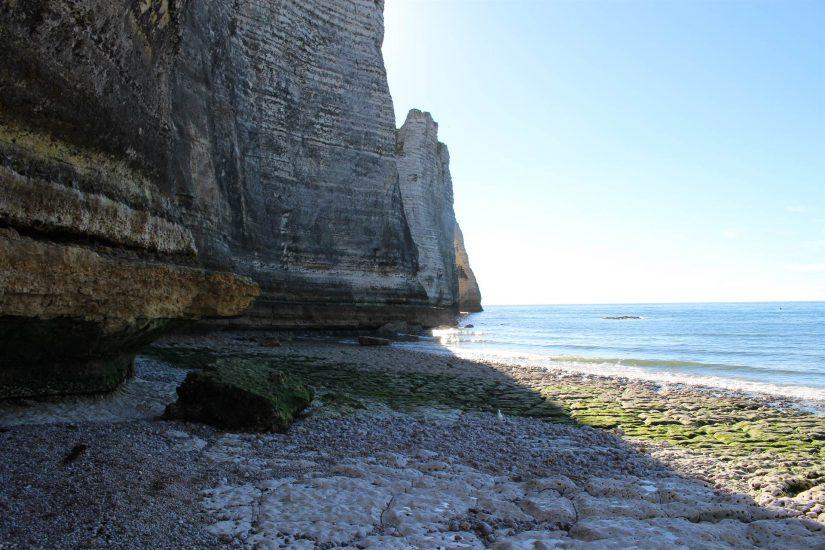 les plages d'Etretat