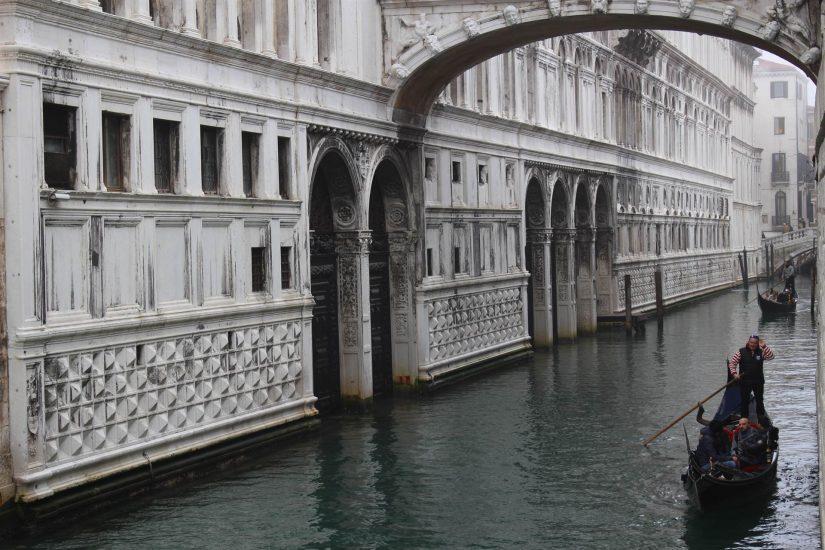 Venise pont des soupirs