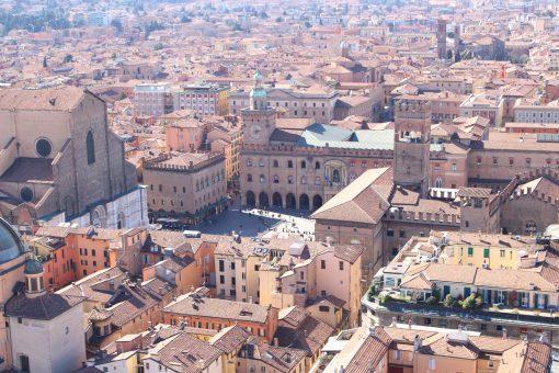Les tours Asinelli et Garisenda