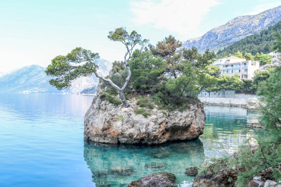 Brela-Croatie