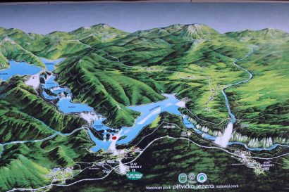 Plitvice map