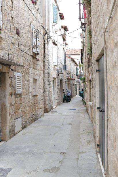 Trogir village Croatie