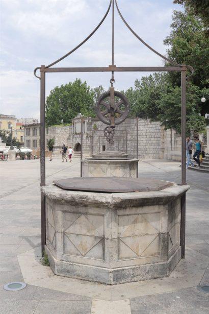 place des cinq puits, zadar