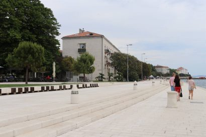 orgue marin de Zadar