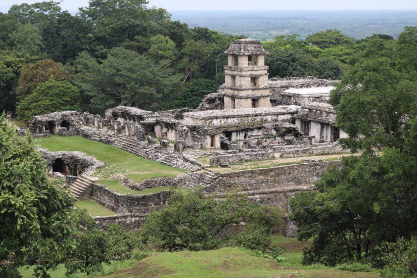 Ruines de Palenque Les pyramides mayas du Mexique