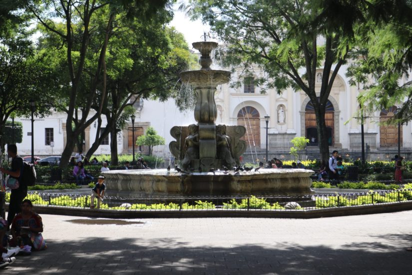 Parque Central Antigua