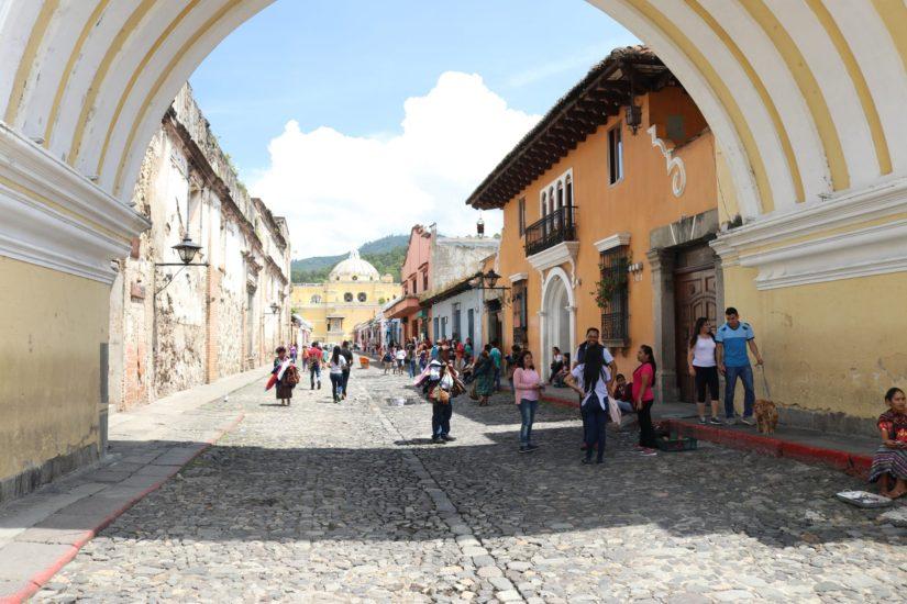 Maisons colorées Antigua