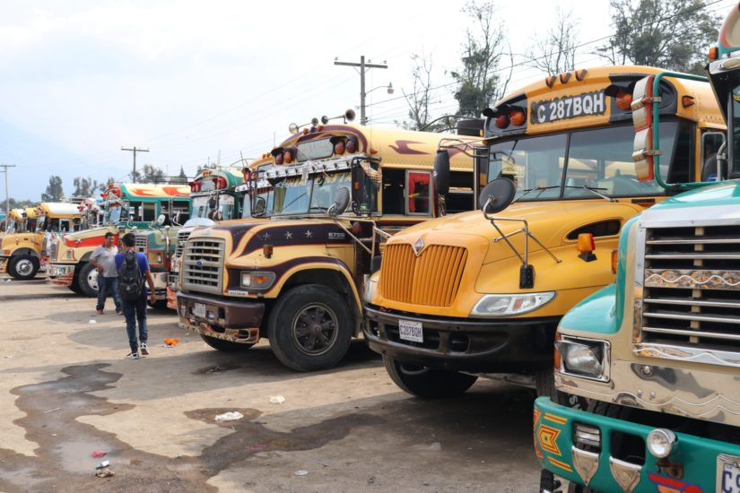 Bus terminal Antigua