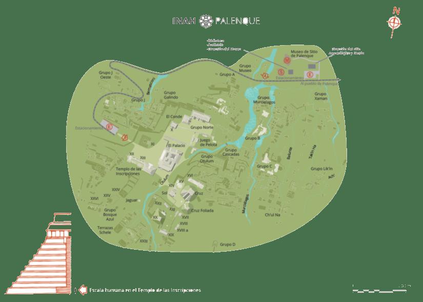Carte de Palenque