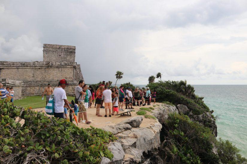 Mexique Les ruines de Tulum