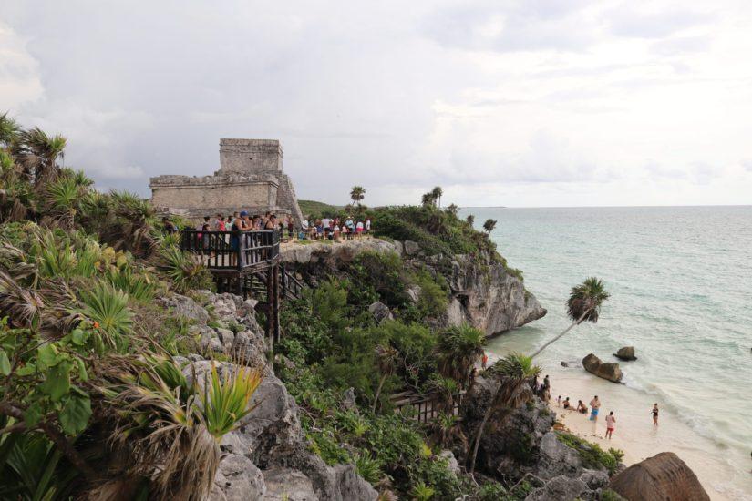 Les ruines de Tulum Les pyramides mayas du Mexique