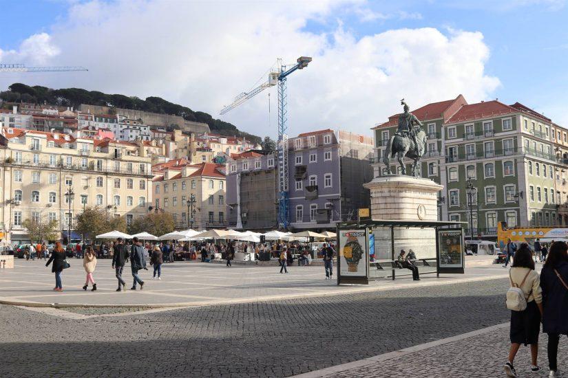 Lisbonne La Praça Figueira
